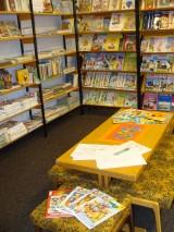 čtenářský koutek pro děti